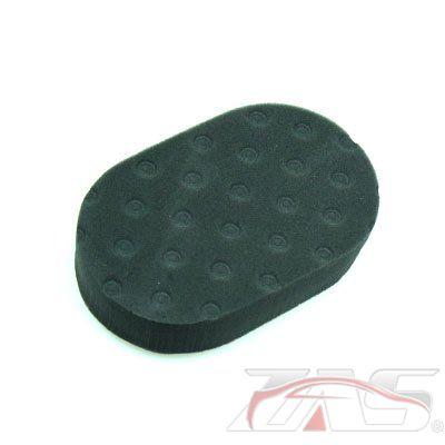 lake country ccs foam hand pad black zas. Black Bedroom Furniture Sets. Home Design Ideas